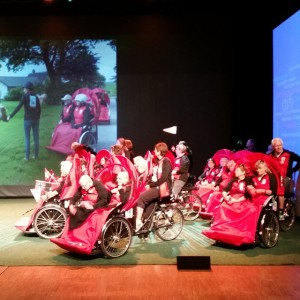 Sykling uten alder, en dansk sosent-ide sykler til Norge